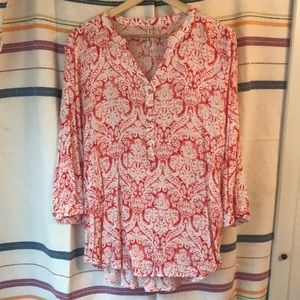 Tops - Batik print tunic